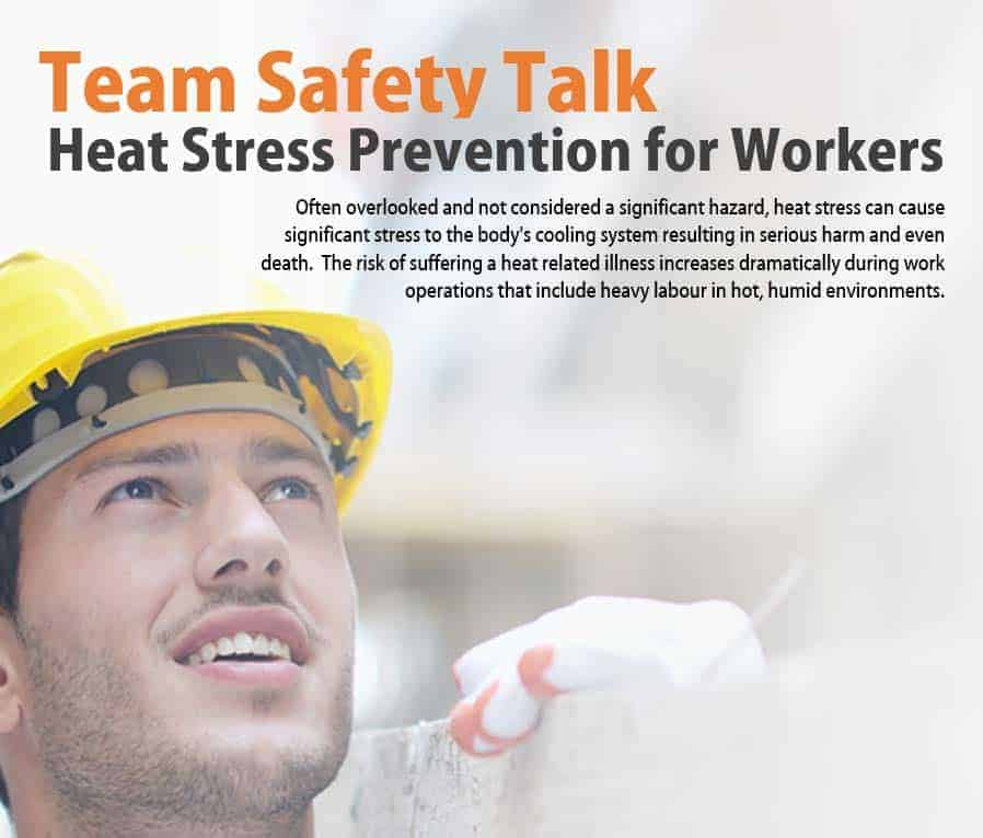 heat stress awareness free team safety talk