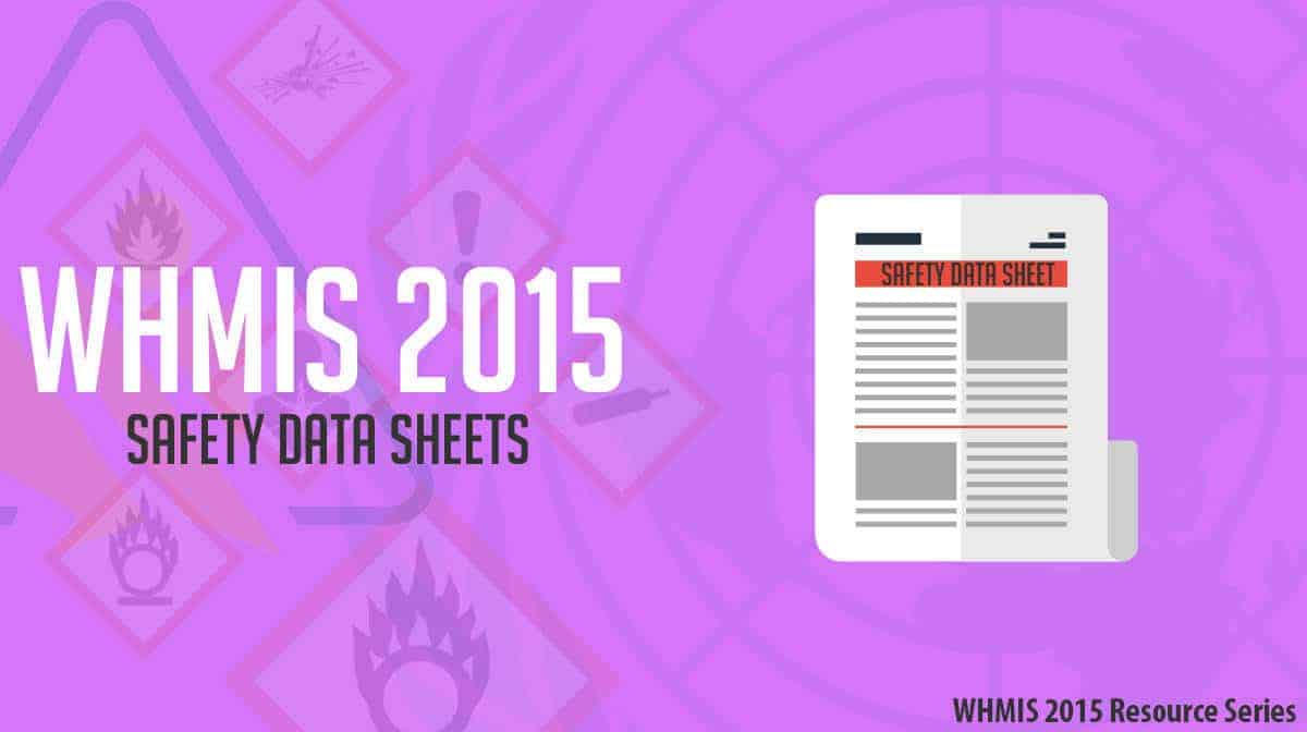 Whmis 2015 Safety Data Sheets