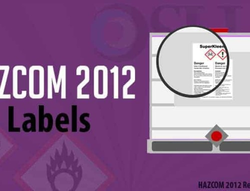 OSHA HAZCOM Labels