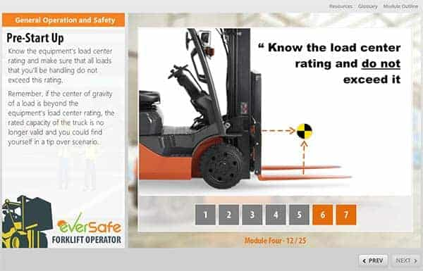 online forklift training