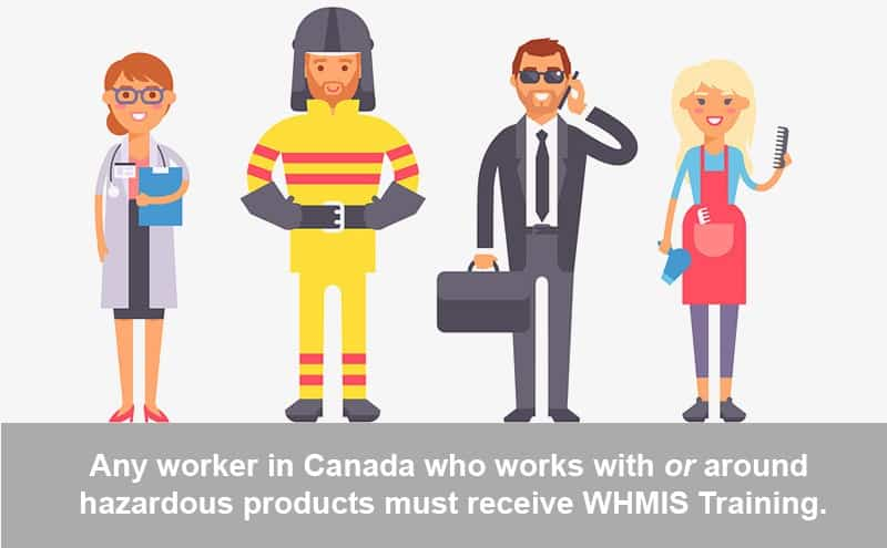 Workers Must Receive WHMIS Training