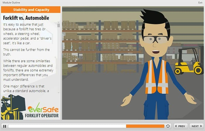 Forklift Certification Stability